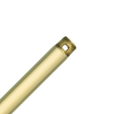 12 in. Polished Brass Extension Downrod