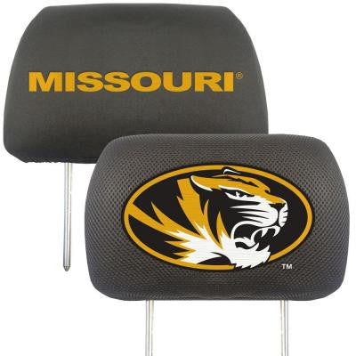 NCAA -University of Missouri Head Rest Cover (2-Pack)