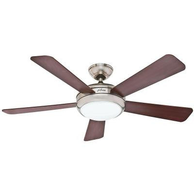 Palermo 52 in. Brushed Nickel Indoor Ceiling Fan
