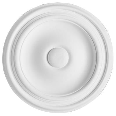 European Collection 10-1/4 in. x 1 in. Traditional Plain Polyurethane Ceiling Medallion