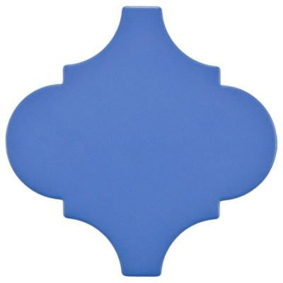Provenzale Lantern Blue 8 in. x 8 in. Porcelain Floor and Wall Tile (1.08 sq. ft. / pack)