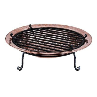 30 in. Medium Polished Copper Fire Pit