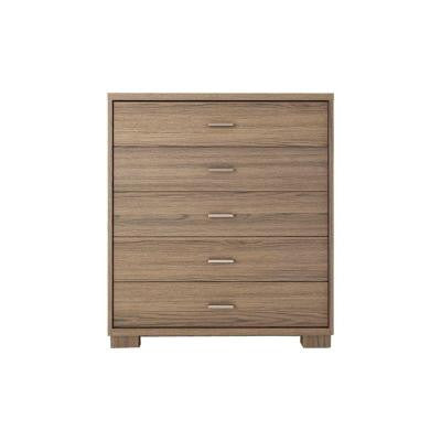 5-Drawer Astor Dresser in Chocolate/Pro-Touch