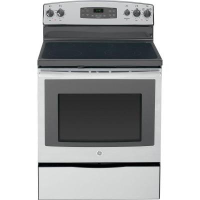 5.3 cu. ft. Electric Range with Self-Cleaning Oven in Stainless Steel