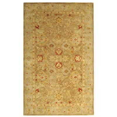 Antiquity Brown/Beige 6 ft. x 9 ft. Area Rug