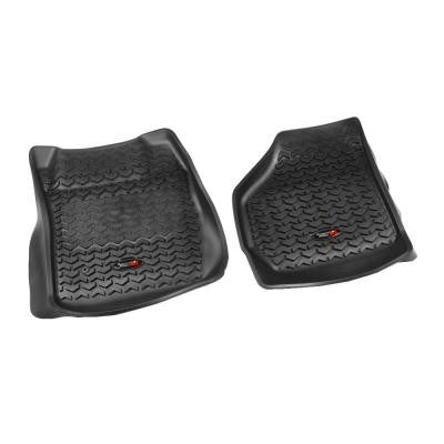 Floor Liner Front Pair Black 1999-2007 Ford F250/350 No Man