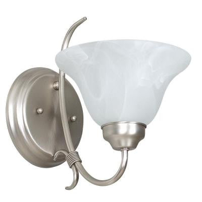 Pimentel 1-Light Satin Nickel Sconce