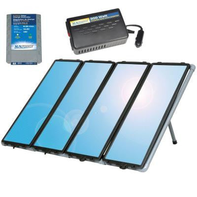 80-Watt Solar Back-Up Power Kit