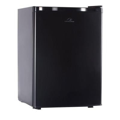 Commercial Cool 2.6 cu. ft. Mini Refrigerator with Freezer in Black