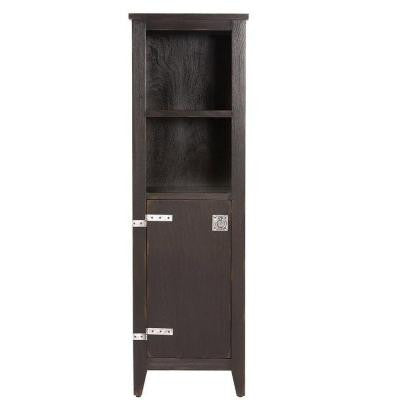 Glenwood 18 in. Linen Cabinet in Distressed Espresso