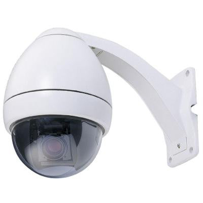 Wired 540TVL PTZ Indoor/Outdoor CCD Dome Surveillance Camera with 23X Optical Zoom