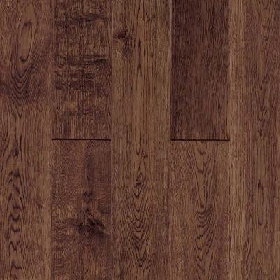 3/4 in. x 5 in. Standard Length Longford Vintage Brown 21.70 sq. ft. Solid Hardwood