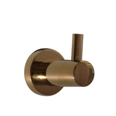 Berlin Single Robe Hook in Polished Brass
