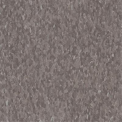 Imperial Texture VCT 12 in. x 12 in. Smokey Brown Standard Excelon Commercial Vinyl Tile (45 sq. ft. / case)
