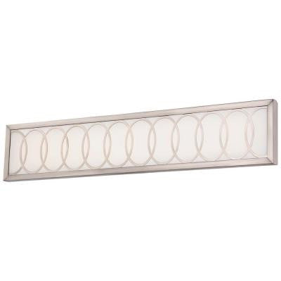 Celice Brushed Nickel LED Bath Light