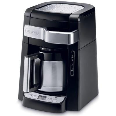 10-Cup Drip Coffee Maker with Front Access