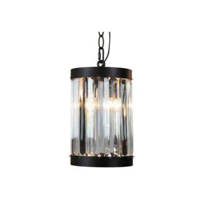 1-Light Oil-Rubbed Bronze Indoor Glass Mini Pendant