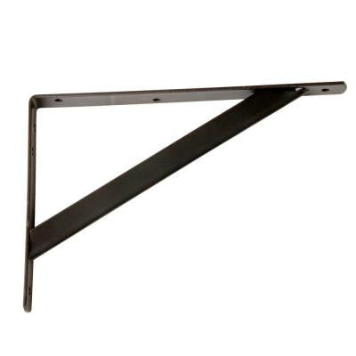 11.25 in. x 1.05 in. Bronze Shelf Bracket