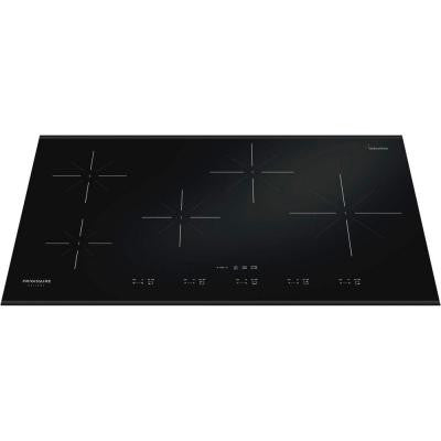 Gallery 36 in. Smooth Ceramic Glass Induction Cooktop in Black with 5 Elements