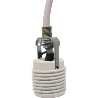 Lighting Accessory-Cord Extender, White