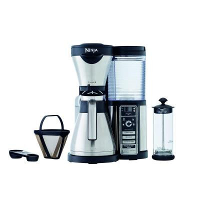 Coffee Bar with Stainless Steel Carafe