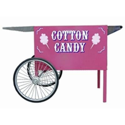 Deep Well Cotton Candy Cart in Pink