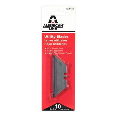 Heavy Duty Utility Blades (10-Pack)