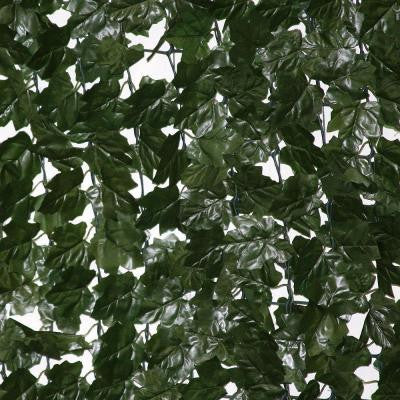10 ft. Wide x 5 ft. Tall Dramatic Danica Double Sided Ivy Roll