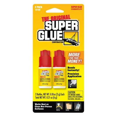 .10 oz. Glue Bottle, (2) .10 oz. Bottles per card, (12-Pack)