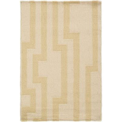 Market Place Beige 2 ft. x 3 ft. Indoor Area Rug