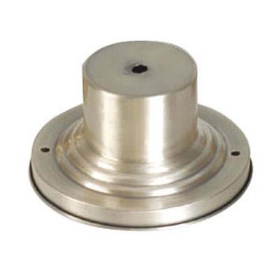 Providence Brushed Nickel Outdoor Pier Mount Adaptor