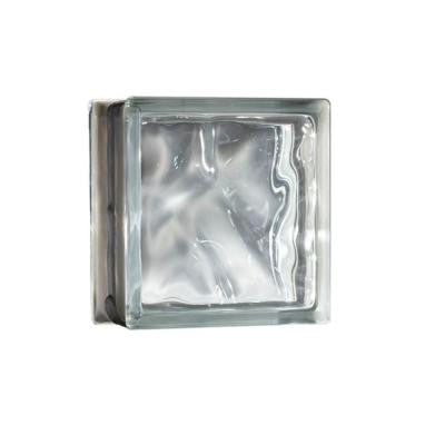 8 in. x 8 in. x 3.5 in. Decora Energy Efficient Glass Block 8/CA
