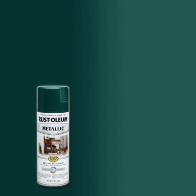 11 oz. Racing Green Protective Enamel Metallic Spray Paint (6-Pack)