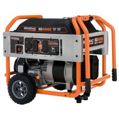 8,000-Watt Gasoline Powered Portable Generator - CARB