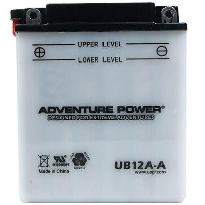 Conventional Wet Pack 12-Volt 12 Ah Capacity A Terminal Battery
