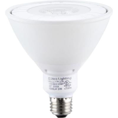 90W Equivalent Cool White PAR38 Dimmable LED Light Bulb