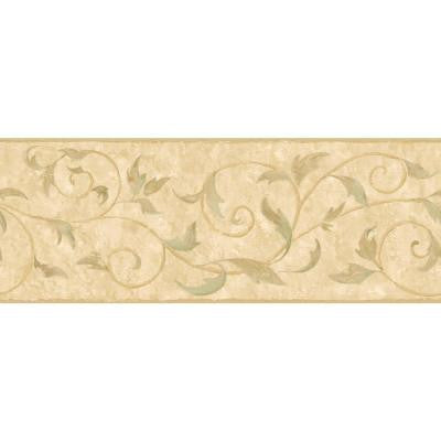 9 in. Vine Scroll Border