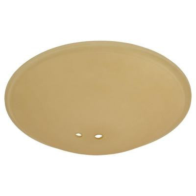 Andross 48 in. Oil Rubbed Bronze Ceiling Fan Replacement Tea Stain Glass Bowl