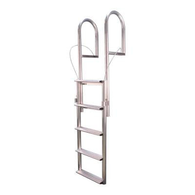 5-Step Wide Rung Aluminum Lifting Dock Ladder