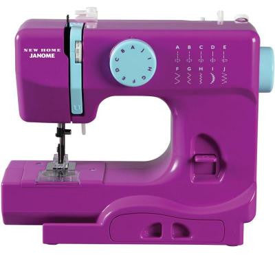 10-Stitch Thunder Sewing Machine in Purple