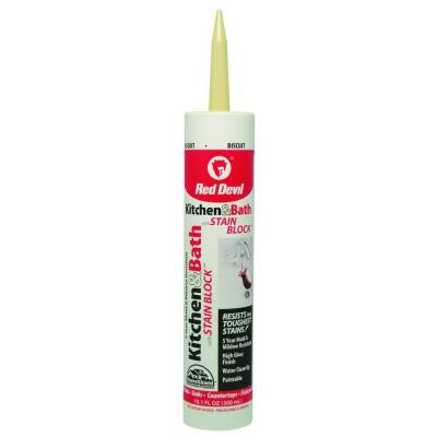 10.1 oz. Kitchen and Bath with Stain Block Caulk
