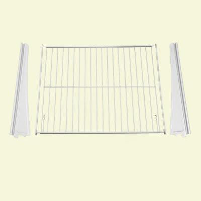 21 in. x 17 in. Ventilated Wire Drawer Hardwar Kit (3-Piece)