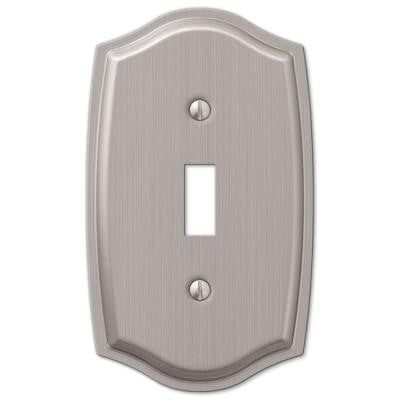 Sonoma 1 Toggle Wall Plate - Nickel