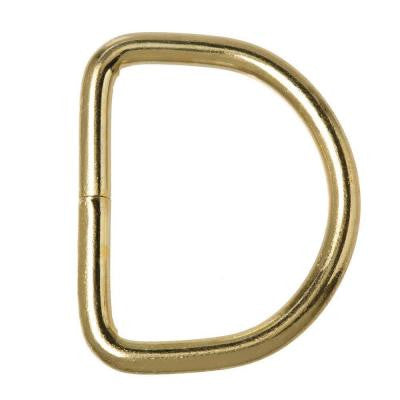 1-5/16 in. Brass D-Ring