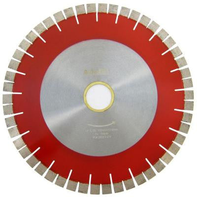 14 in. Bridge Saw Blade with V-Shaped Segment for Granite Cutting