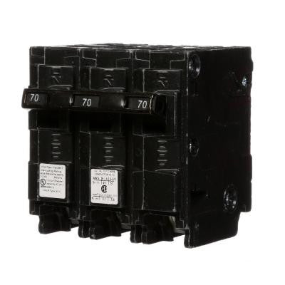 70 Amp Three-Pole Type MP Circuit Breaker