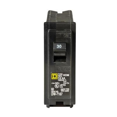 Homeline 30 Amp Single-Pole Circuit Breaker