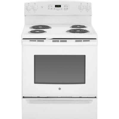 5.0 cu. ft. Electric Range with Self-Cleaning Oven in White