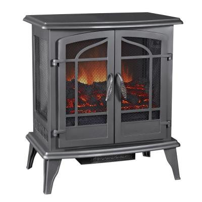 25 in. Vintage Iron Panoramic Electric Stove