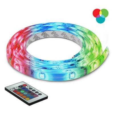 10 ft. Multi-Color Self-Adhesive Cuttable Rope Lighting with Remote Control